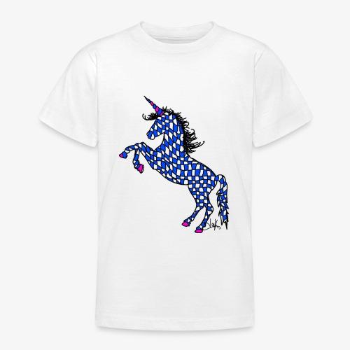 Bavarian Unicorn - Teenager T-Shirt