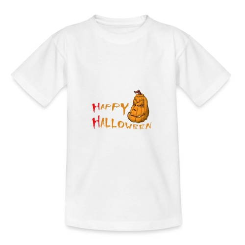 Grusel Happy Halloween T-Shirt - Teenager T-Shirt