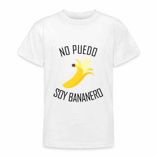 J'peux pas j'ai Banane - Version Espagnol - T-shirt Ado