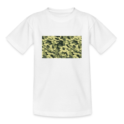 camouflage slippers - Teenager T-shirt