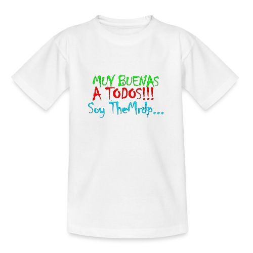 Camiseta oficial TheMrdp - Camiseta adolescente