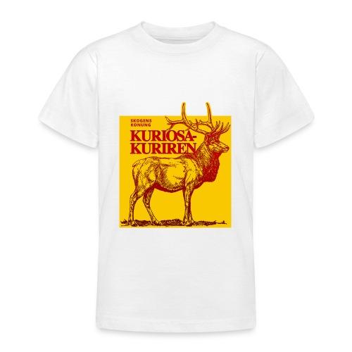 Stiliserad älg - T-shirt tonåring