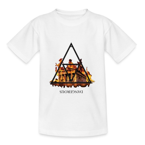 DANGEROUS FIRE - Maglietta per ragazzi