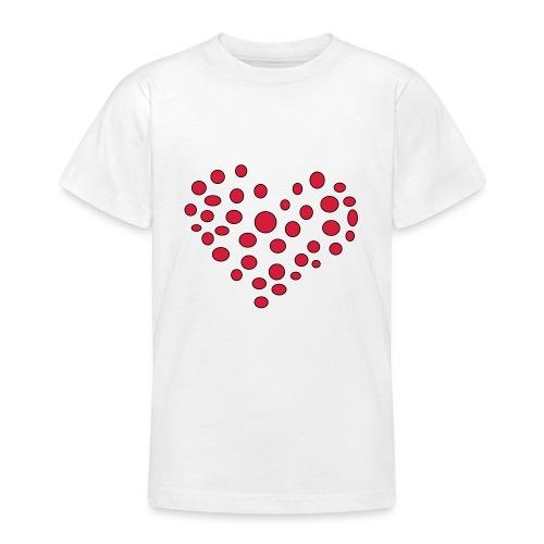 Polka - Teenager-T-shirt