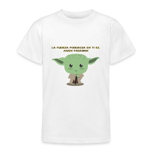 La fuerza poderosa en ti es, joven padawan - Camiseta adolescente