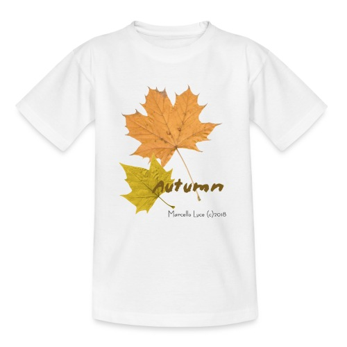 Streetworker art by Marcello Luce - autumn 2018 - Teenager T-Shirt
