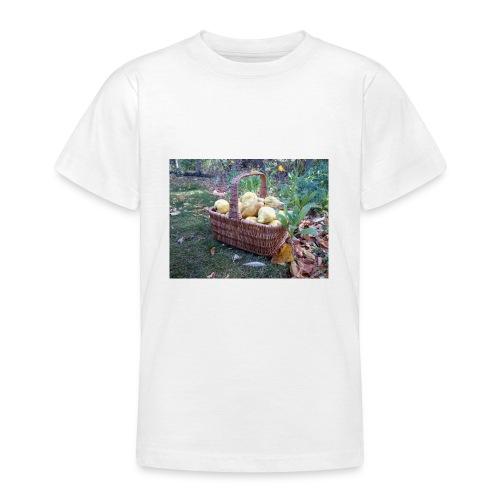 Quitten-Korb - Teenager T-Shirt