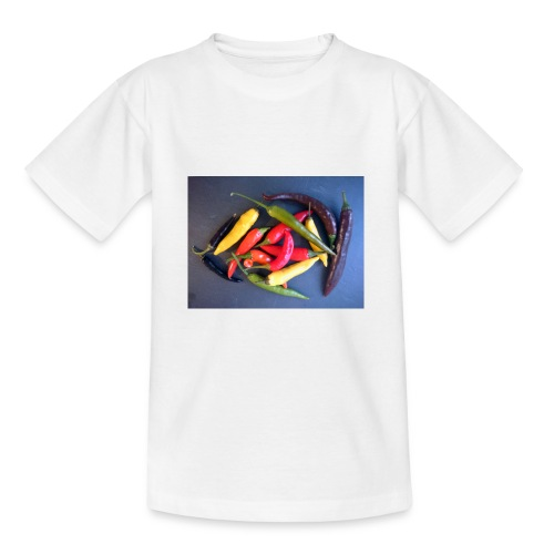 Chili bunt - Teenager T-Shirt