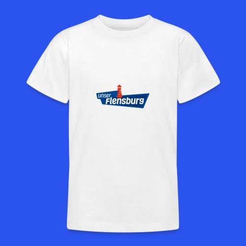 Unser Flensburg - Teenager T-Shirt