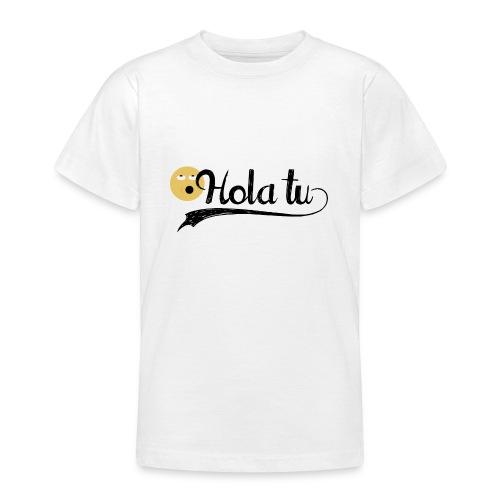 hola_tu_mujer-png - Camiseta adolescente