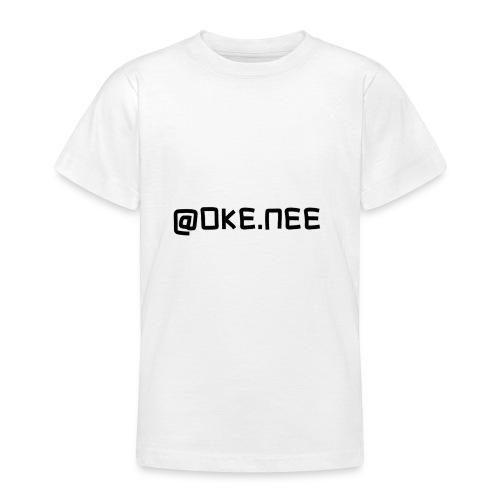 OKE_NEE-png - Teenager T-shirt