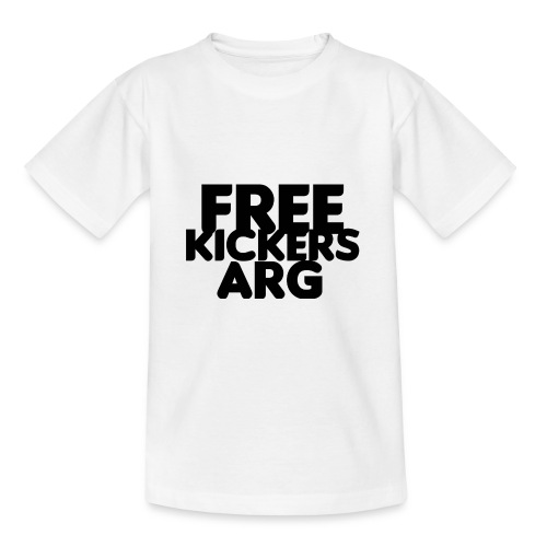 T SHIRT FREEKICKERSARG - Camiseta adolescente