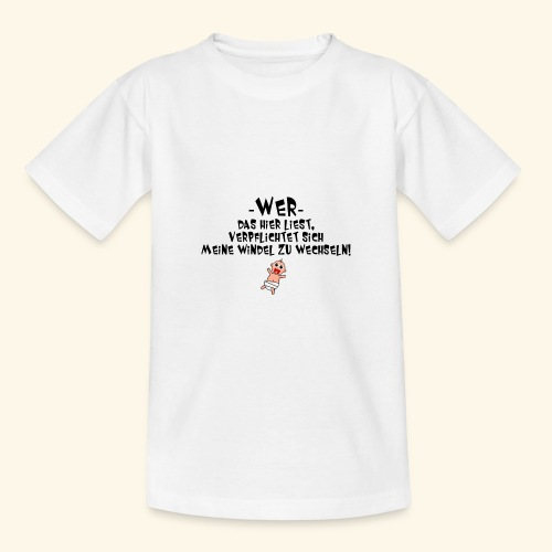 Windel - Teenager T-Shirt