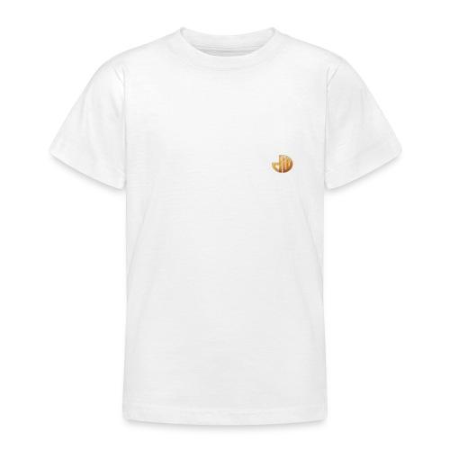 TheDutchWarrior_met_logo - Teenager T-shirt