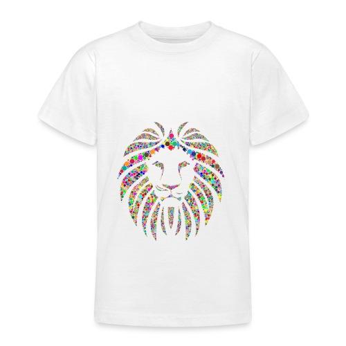 Ausdruck des Löwen - Teenager T-Shirt