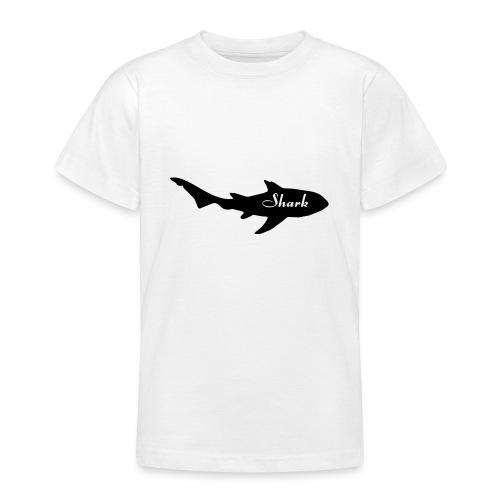 Tiburon logo - Camiseta adolescente
