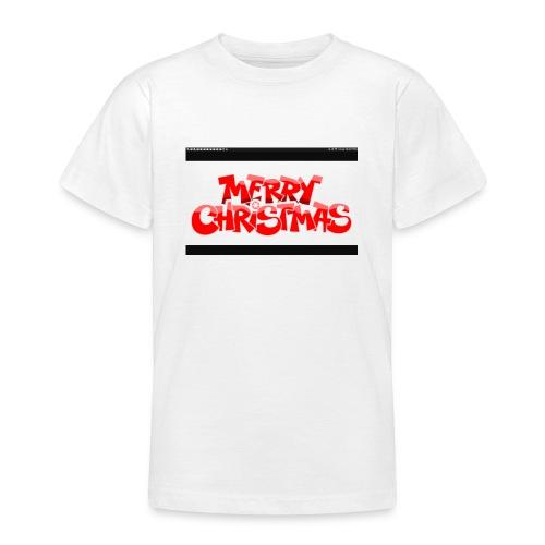 red Christmas top - Teenage T-Shirt