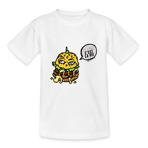 Vive le gras - T-shirt Ado