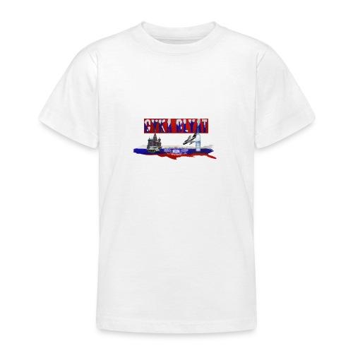 cyka blyat - Teenager T-Shirt
