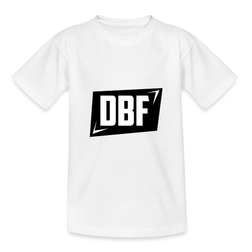 DBF Logo Text - Teenage T-Shirt