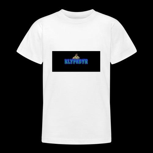 Klypes nettbutikk - T-skjorte for tenåringer