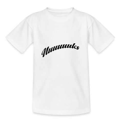 nuuuuks logo - Teenager T-shirt