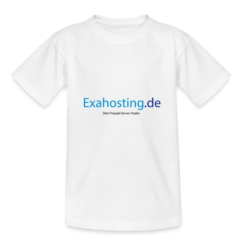 Exahosting Front - Teenager T-Shirt