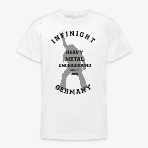 Infinight College headbanger dark - Teenager T-Shirt