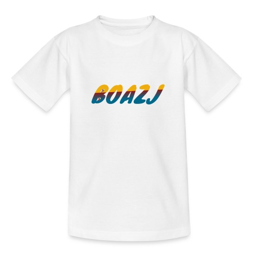 BoazJ Logo - Teenager T-shirt