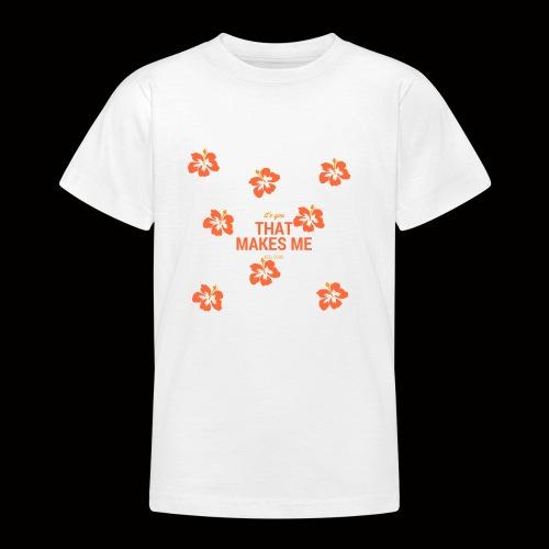 FLOWER SHIRT - Teenager T-Shirt