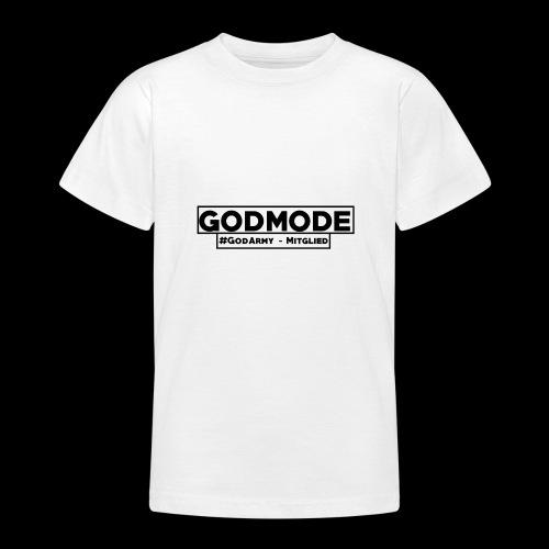 #GodArmy-Mitglied - Teenager T-Shirt