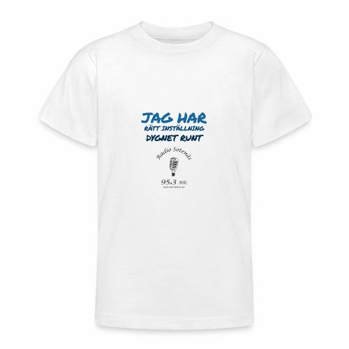 Jag har rättinstallning dygnet runt - T-shirt tonåring