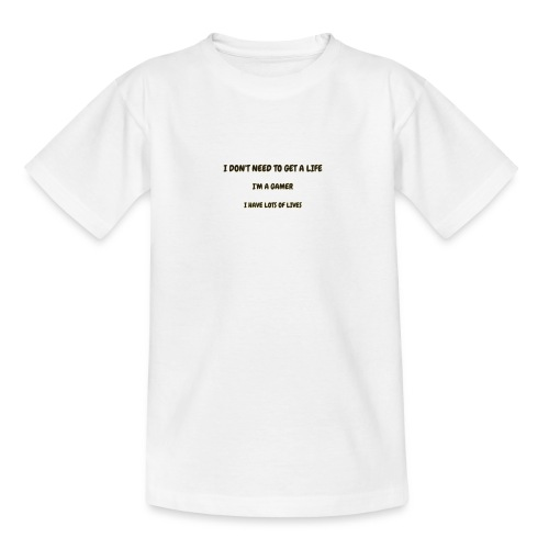 GAMER - Teenage T-shirt