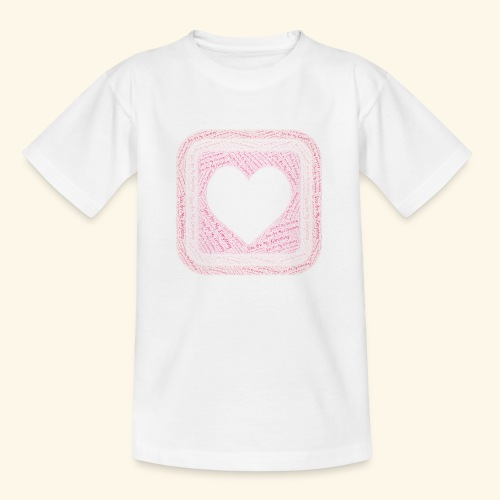 You are my everything with love - Teenage T-shirt