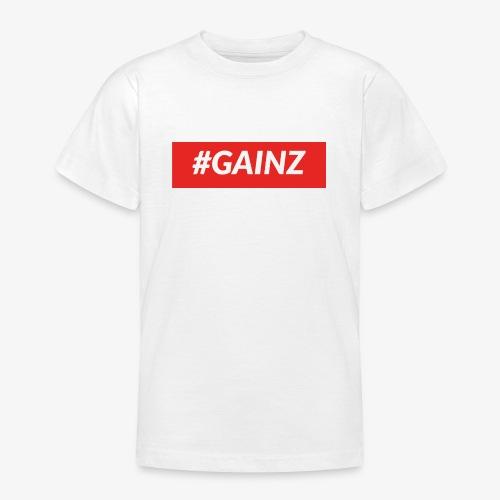 Gainz by Simon Mathis - Teenager T-Shirt