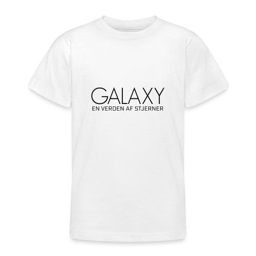 En verden af stjerner - Teenager-T-shirt