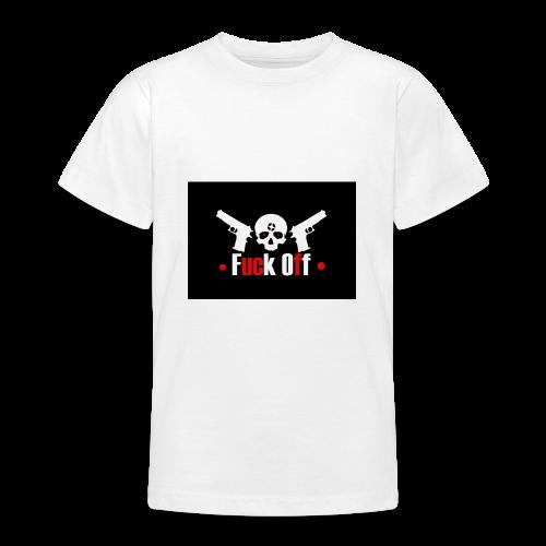 Fuck Off - T-shirt tonåring
