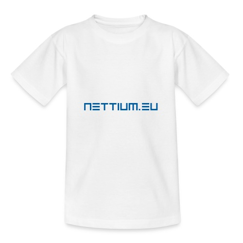 Nettium.eu logo blue - Teenage T-Shirt