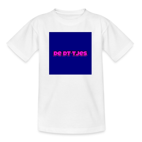 de dt tjes - Teenager T-shirt