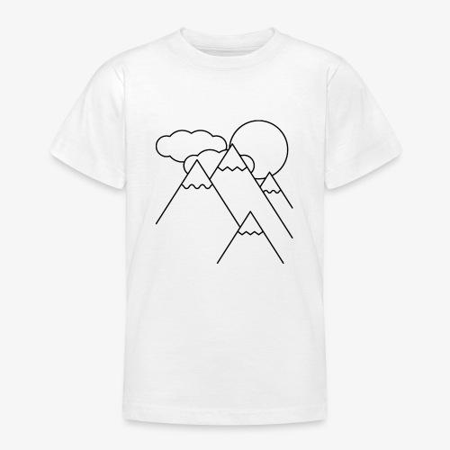 Bergen bij Dag - Teenager T-shirt