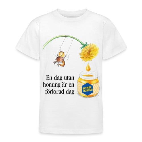 En dag utan honung är en förlorad dag - T-shirt tonåring