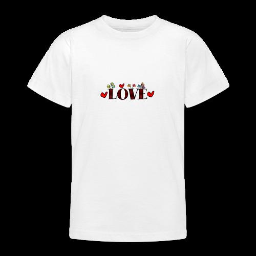 amor - Camiseta adolescente