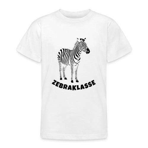 Zebraklasse Zebra Klasse - Teenager T-Shirt
