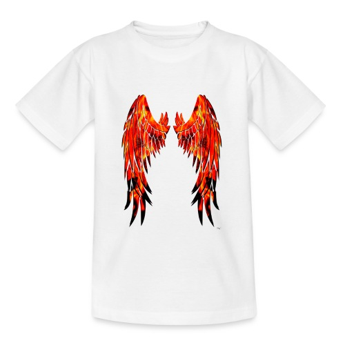 Fire wings - Camiseta adolescente
