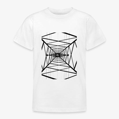 Hochmast V2 Schwarz - Teenager T-Shirt