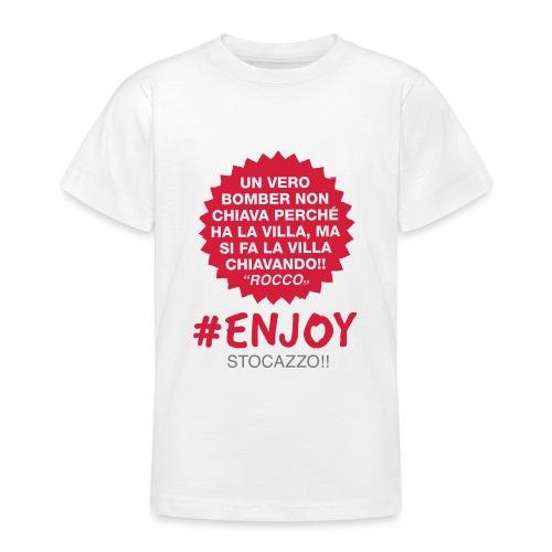 EnjoyStoCazzo 8 - Maglietta per ragazzi