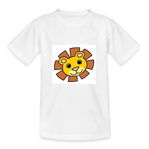 funimals_lejon_f--rg_-2- - T-shirt tonåring
