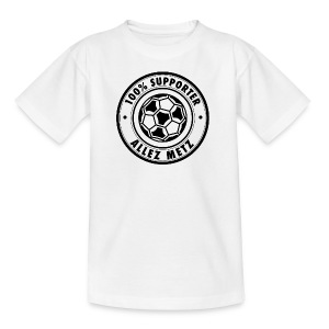 100 pour cent SUPPORTER METZ - T-shirt Ado