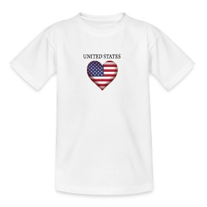 United States - Teenage T-shirt