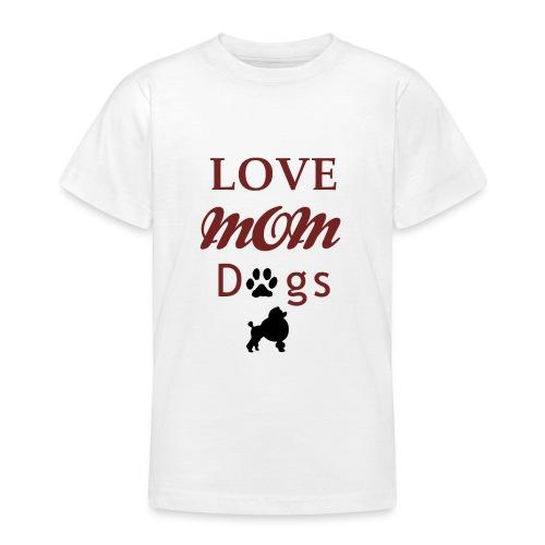 mom love dogs chiwawa transpar modi - T-shirt Ado